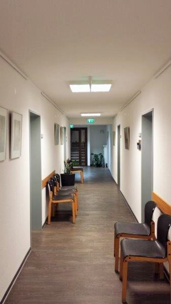 Hallway - Praxis Göttingen Center